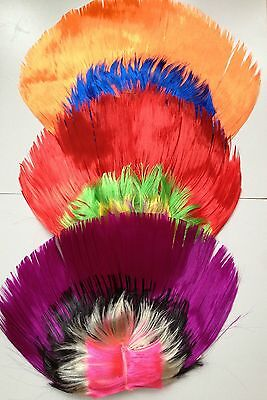 Multi Color Mohawk Hair Wig Punk Rocker Hairstyle Halloween Costume Party Rock (Halloween Hairstyles)