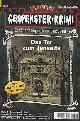 GESPENSTER-KRIMI Nr. 1 - Das Tor zum Jenseits - Frederic Collins - NEU