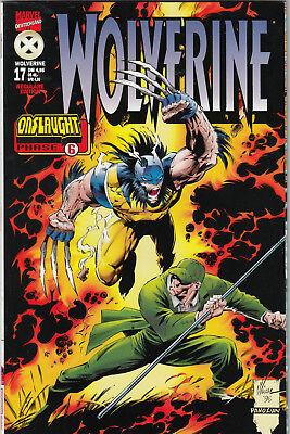 WOLVERINE 1. Serie (deutsch) # 17 - ONSLAUGHT 6 - MARVEL 1998 - Z. 1