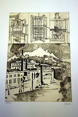RENZO BIASION ANTICHE MACCHINE ANTICHE FABBRICHE ACQUAFORTE 1982 usato  Masseria dell'Erba