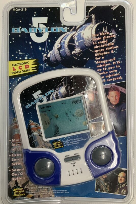Babylon 5 Electronic LCD Video Game MGA-219 Signed by Bruce Boxleitner