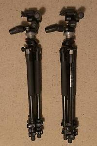 2x Near new Manfrotto 190xprob w/804Rc2 Tripods Midland Swan Area Preview