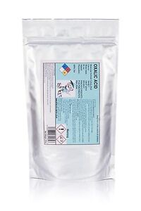 500g Oxalic acid•Hull•Deck•GRP Cleaner & rust remover•