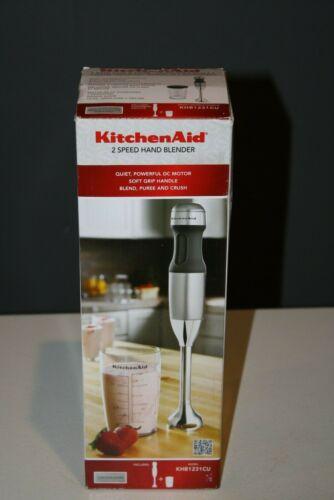 KitchenAid 2-Speed Hand Mixer Contour Silver KHB1231CU