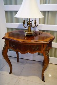 French louis side table