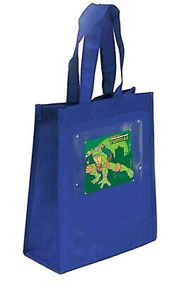 Favor Treat Party Bags with Teenage Mutant Ninja Turtle Sticker-Fabric 10