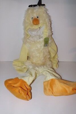 Infant Baby Chick Costume (New 1 Pc Adorable Infant Baby Chick Halloween Costume Complete 18-24 Mo)
