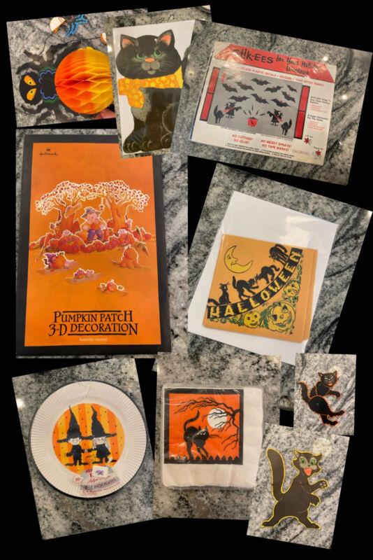 Vintage Halloween Paper Ephemera Lot