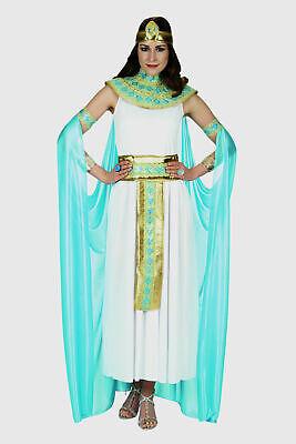 Cleopatra Kostüm Damen mit Zubehör Kleopatra Ägypterin Göttin Karneval Fasching