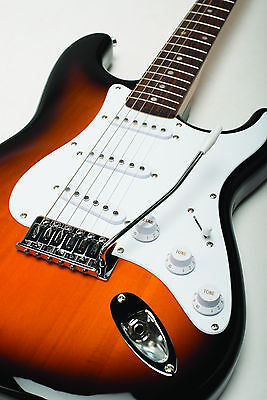 FENDER SQUIER BULLET STRAT BROWN SUNBURST STRATOCASTER ELECTRIC GUITAR ~ NEW on Rummage
