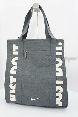 35584374bf NWT Nike BA5446-065 Women's Gym Tote Shoulder Bag Polyester Cool Grey Guava  Ice