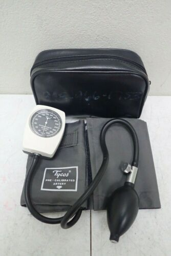 Tycos Welch Allyn Hand Held Blood Pressure Monitor Sphygmomanometer with Pouch