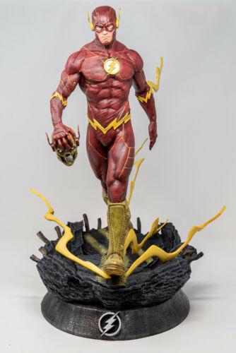 "The Flash DC Comics Fan Art Garage Kit Statue Figurine 1:6 scale 22"""