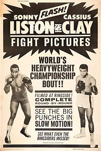 MUHAMMAD-ALI-V-SONNY-LISTON-RARE-VINTAGE-BOXING-POSTER-PRINT-GET-YOURS-NOW