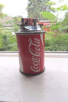 original Coca-Cola mini can old lighter KOEl UNICON soda pop co desk lighter