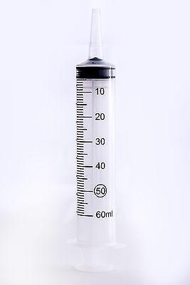 10 Pack Catheter Tip Syringe 60ML- Easy Glide-Sterile NEW Syringe Only No Needle