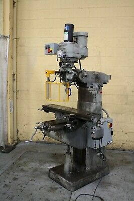 9 X 42 Bridgeport Vertical Knee Mill Yoder 67297