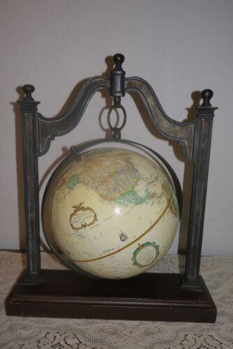 Vtg SARREID Hanging Replogle World Globe