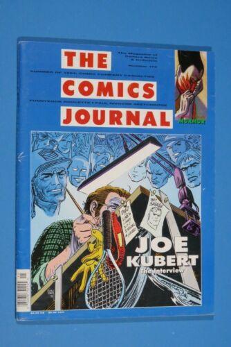 The Comics Journal Joe Kubert Interview # 172 Cover Art by Joe Kubert 1994