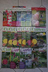 18x Zeitschrift Garten Wohnen Dekorieren Sammlung Mein schöner Flora Lust auf