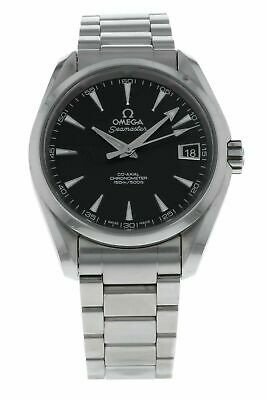 Omega Aqua Terra Automatic Chronometer 38.5mm Men's Watch 231.13.39.21.01.001