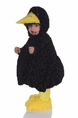 Underwraps Schwarz Krähe Bauch Babys Vogel Kind Jungen Halloween Kostüm - Krähe Kostüm Baby