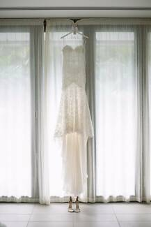 "Made with Love Bridal ""Danni"" wedding gown + 'Chani' veil"