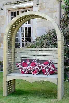 Contemporary Garden Arbour CLEARANCE FADED UNITS