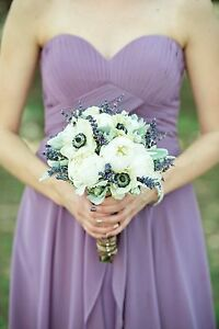 Purple / lavender bridesmaid or prom dress