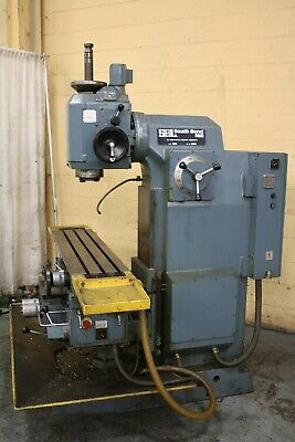 5 Hp Southbend Model F2ve Vertical Milling Machine Yoder 66443