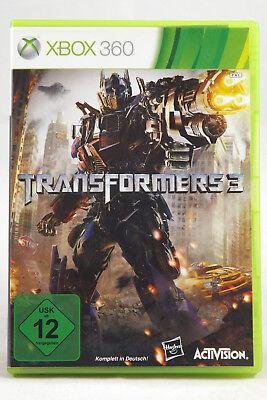 Transformers 3 (Microsoft Xbox 360) Spiel in OVP, PAL, CIB, TOP, SEHR GUT, usato usato  Spedire a Italy