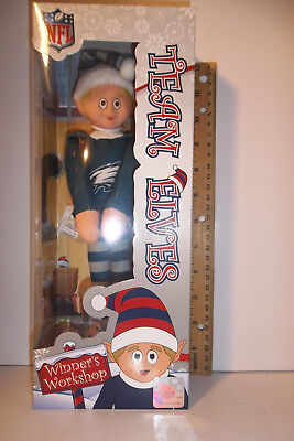 Philadelphia Eagles TEAM Logo Elves Elf Christmas decor 9