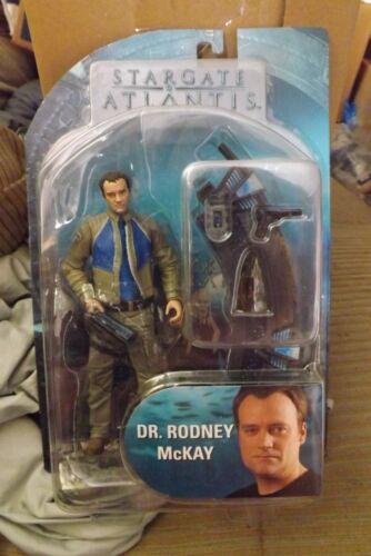 NEW Stargate Atlantis Dr. Rodney McKay Action Figure Toy Series 2 Unopened