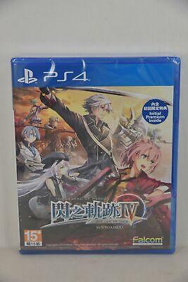 PS4 The Legend of Heroes: Sen no Kiseki IV 4 The End of SAGA (HK, Chinese) + DLC
