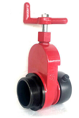 2-12 Aluminum Hydrant Gate Valve Fnst X Mnst Non-rising 175psi Speed Handle
