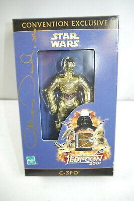 STAR WARS Convention Exclusive C-3PO signiert Anthony Daniels 2001 Hasbro  MF15C gebraucht kaufen  Deutschland