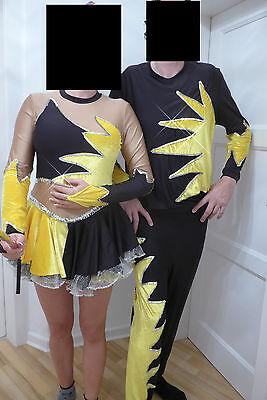 Tanzpaar Gardekostüm Major und Tanzmariechen Erwachsene Tanz Uniform Unikat