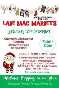 Christmas markets Boolaroo Lake Macquarie Area Preview