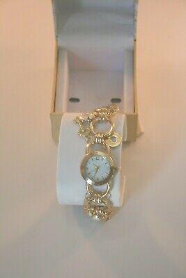 women s gold tone key charm bracelet