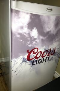 Coors Light mini fridge