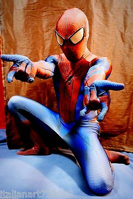 New The Amazing Spider-Man Movie 3D Printing With Muscle Shading Costume