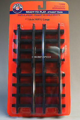 LIONEL LARGE SCALE READY TO PLAY STRAIGHT TRAIN TRACK 12 PACK 7-11826 (12) NEW