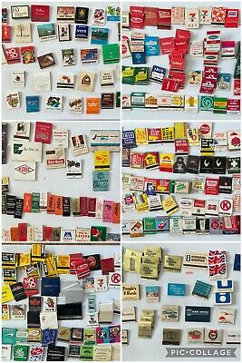 50 years Of Vintage Matchbook Matches Lot ~ 4 Lbs All Pictured
