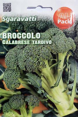 Semi di Broccolo Calabrese Tardivo in Busta termosaldata