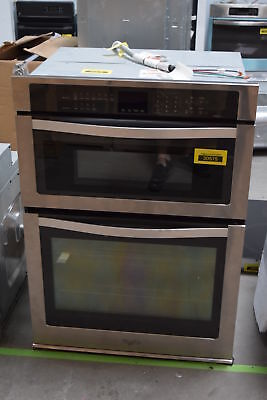 """Whirlpool WOC95EC0AS 30"""" Stainless Microwave Combo Electric Wall Oven NOB #29490"""