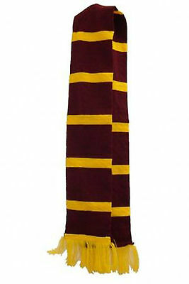 Harry Potter Style Scarf Hogwarts School Boy World Book Day Fancy Dress Costume