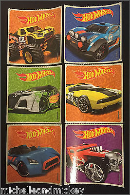 Hot Wheels Stickers x 6  - Birthday Party Loot Ideas Party Hot Wheels Birthday](Hot Wheels Party Ideas)