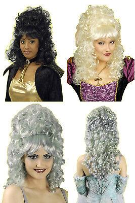 Damen Perücke LUCIA zB Kostüm Barock Rokoko Mittelalter Hochfrisur lange - Kostüm Locken Perücke