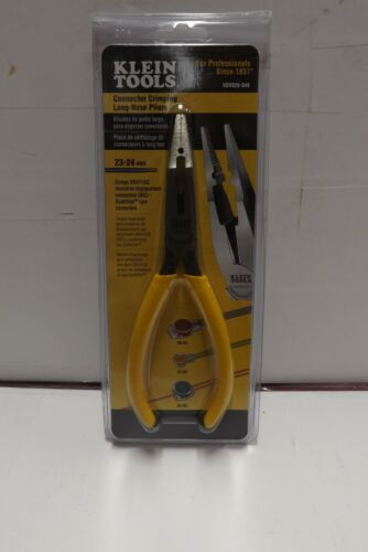 Klein Tools VDV026-049 Connector Crimping Long-Nose Pliers BRAND NEW