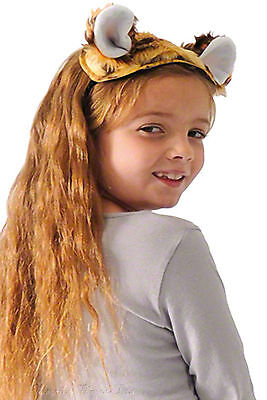 Kids Tiger Costume Ears and Tail World Book Day Fancy Dress Leopard Big Cat